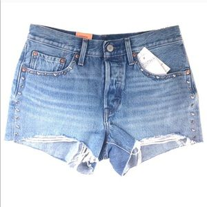 Levi's Denim Shorts. Size 26. NWT. Retail- $80